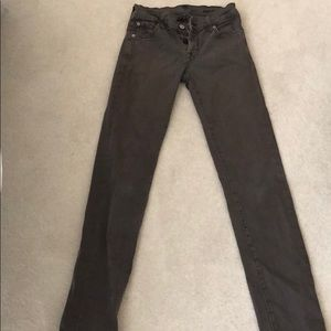 Seven for all mankind grey jeans. Size 24.